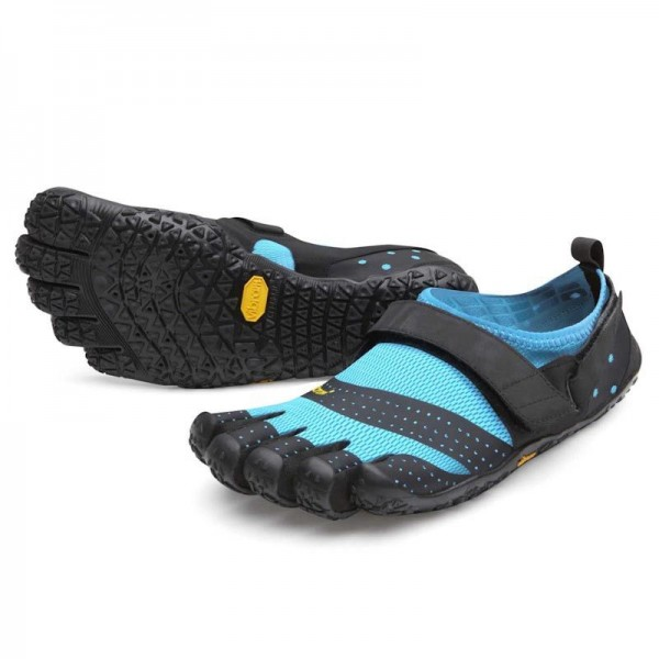 18W0301 V-Aqua black/light blue