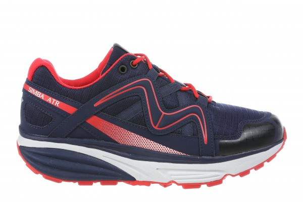 MBT Simba ATR navy red Damen